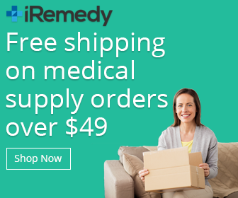 Free shipping on medical supply orders over $49