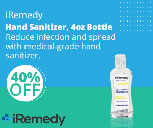 iRemedy Hand Sanitizer