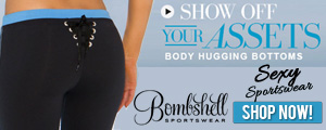 Get Ready To Show Off Your Assets With BombshellSportswear.com!