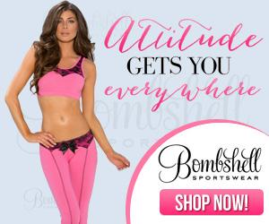 Attitude Gets You Everywhere – Shop BombshellSportwear.com!