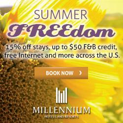 Summer Freedom - MILLENNIUM & COPTHORNE HOTELS