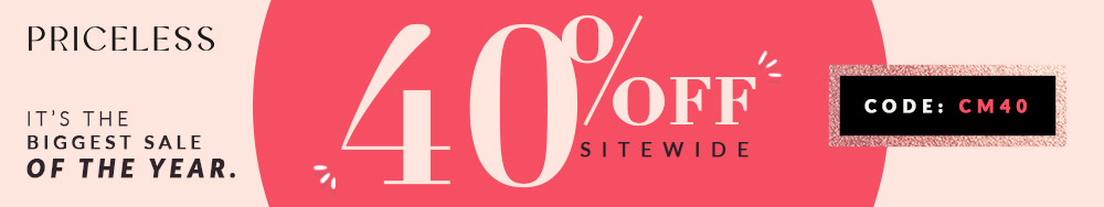 40% Off Cyber Monday