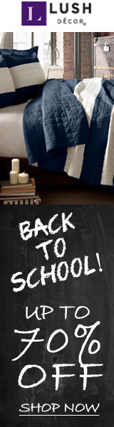 Back to school- quilts, blackout curtains, furniture protectors