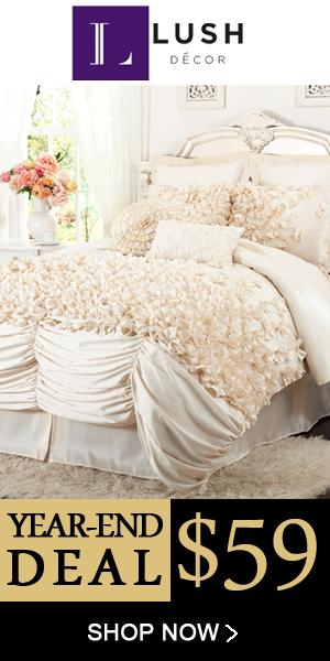 Lush Decor Belle 4 Piece Comforter Set Entrancing Lush Decor Lux 6 Piece Comforter Set Giveaway  Family Focus Blog Inspiration