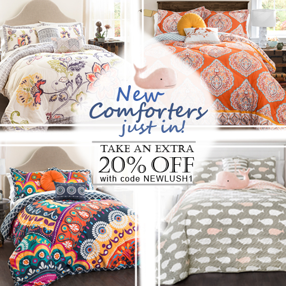 Take an extra 20% off on new bedding