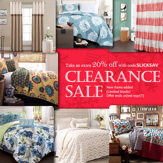 Sale on Clearance! Extra 20% Off with code SLICKSAV