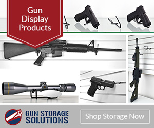 Slatwall Gun Displays