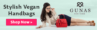 GUNAS New York vegan handbags