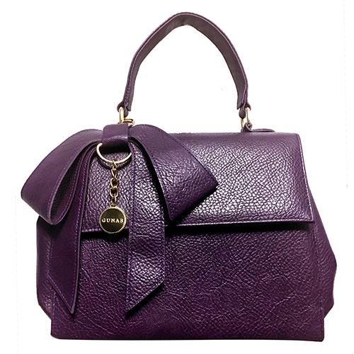High-end vegan handbags: Gunas Cottontail in Purple