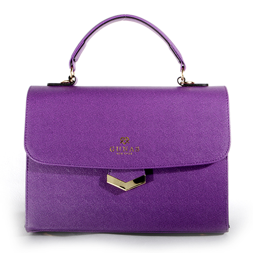 Flamingo Handbag in Purple by GUNAS