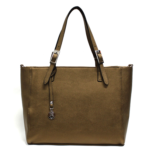 Kangaroo Tote in Bronze by GUNAS
