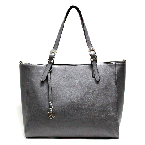Kangaroo Tote in Silver by GUNAS