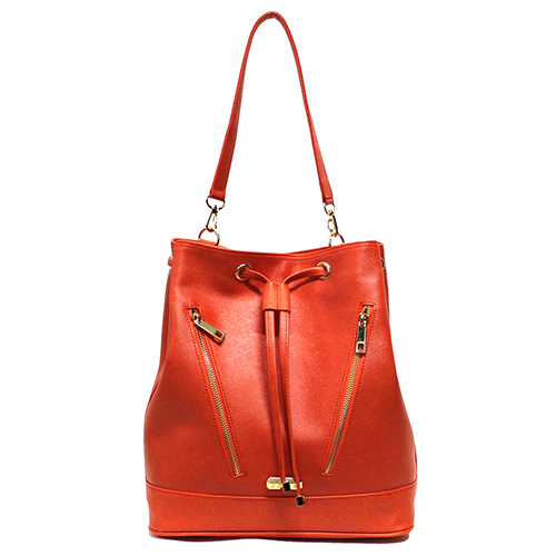 Pelican Handbag in Orange by GUNAS