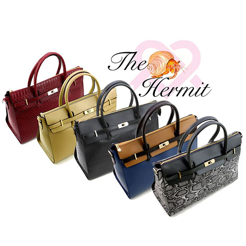 Hermit Vegan Handbags by GUNAS