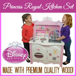 Disney Wood Royal Kitchen