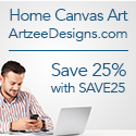 Artzee Designs: Canvas Art For Sale. Free Shipping for Orders Over $75.