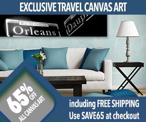 Custom Canvas Travel Art Sale!