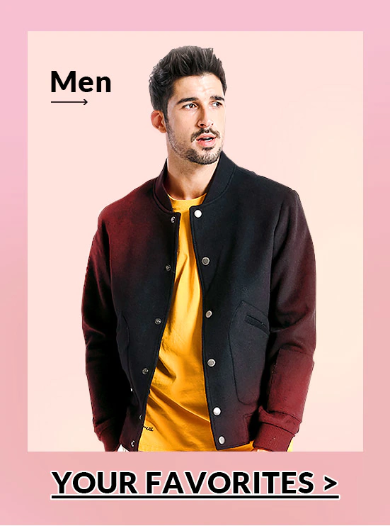 Men's Fashion Mostly Selected New Year