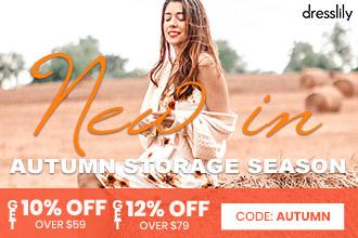 dresslily Autumn Stock Season 2020