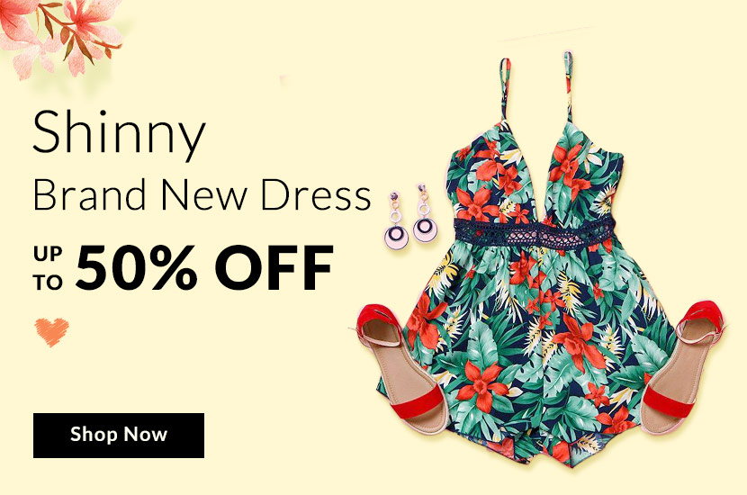 50% Off Shinny Brand New Dress Sale
