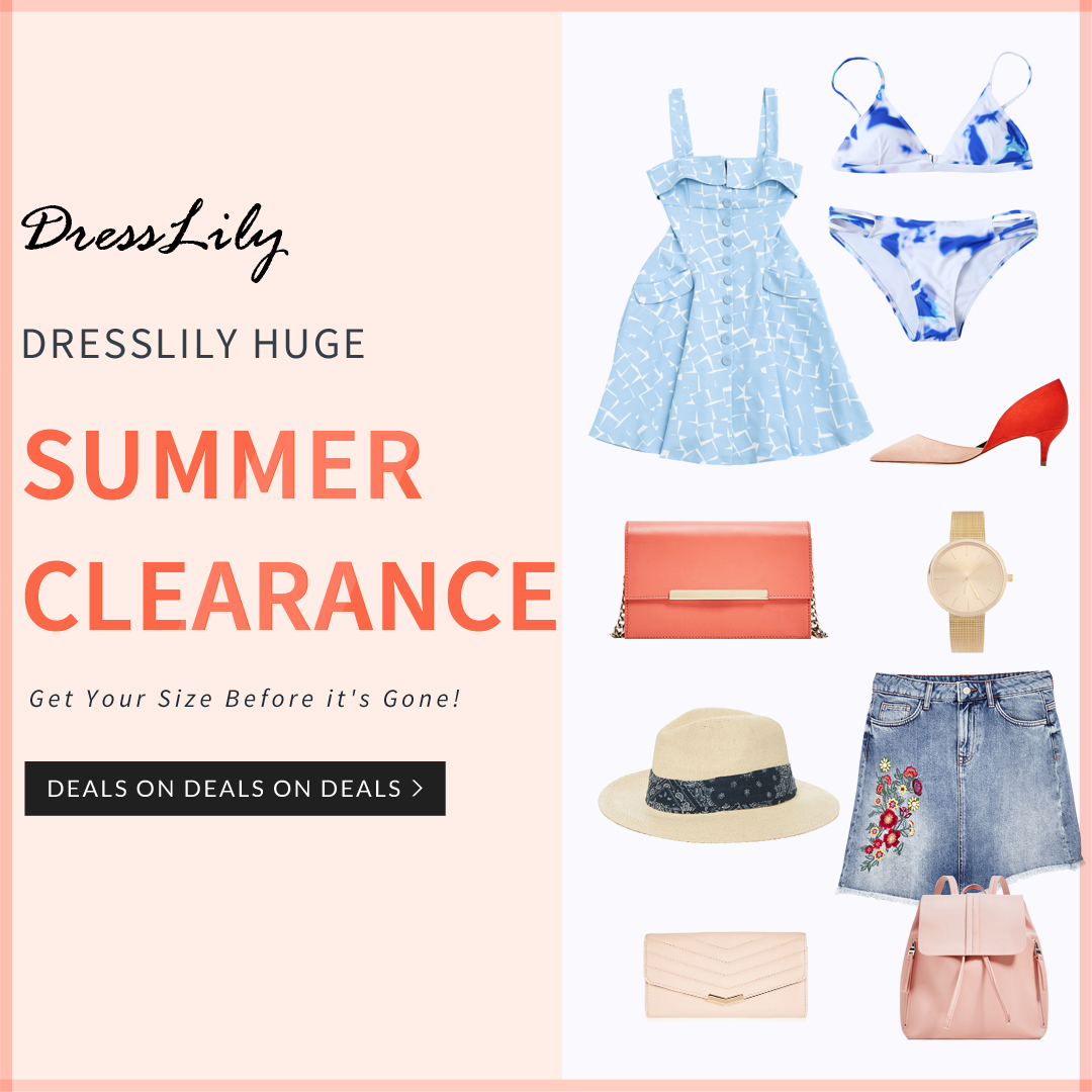 Summer Clearance Sale: Starting at $0.99 and Free Shipping, Shop Now!