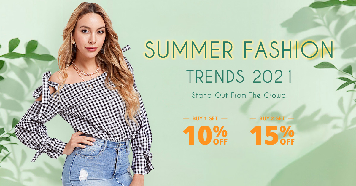 Summer fashion sale!