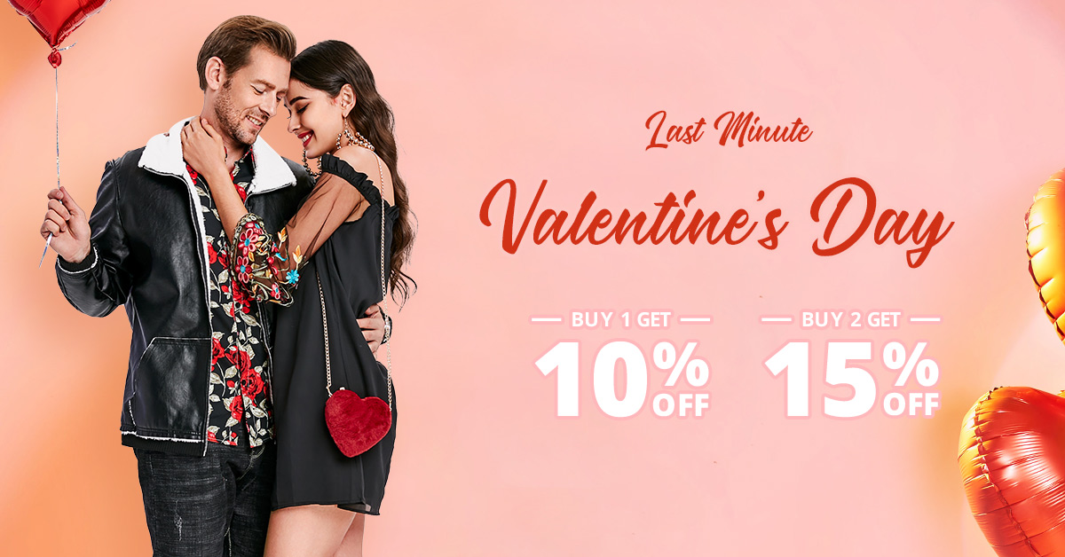 Valentines day sale,BUY 2 get 15% off