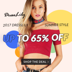 2017 Dresslily Summer Style: Up to 65% OFF and Free Shipping!