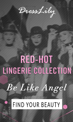Welcome to Dresslily to get your red-hot lingerie collextion, and you can enjoy free shipping and up to 50% off for many lingerie styles. You shouldn't miss it! (Ends: 12/31/2016)
