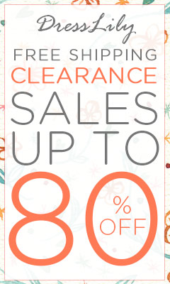 Clearance: UP to 80% OFF + Free Shipping for Hottest Items