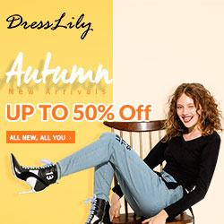 Autumn New Arrivals: Up to 50% OFF and Free Shipping!