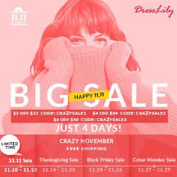 2017 Single Day Big Sale Up To 65% OFF + Free Shipping + Extra Coupon