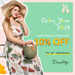 On Sale Color Your Spring 2019