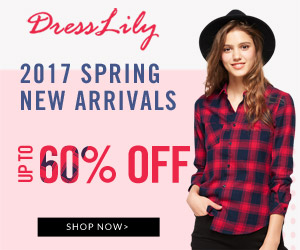 Dresslily Spring New Arrivals: Up to 60% OFF + Free Shipping, Shop Now!