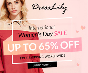 International Women's Day Sale: Up to 65% OFF, Free Shipping Worldwide, Don't Miss it, Shop Now!