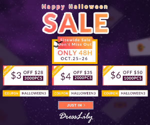Happy Halloween Sale: Limited Coupon + Share To Win 200D Points Most!