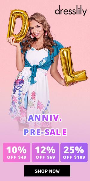 DressLily 9th Anniv Pre sale