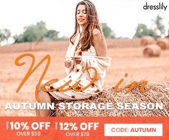 dresslily Autumn Stock Season 2020