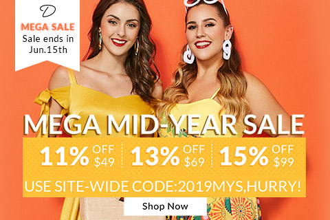 Dresslily Mega Sale