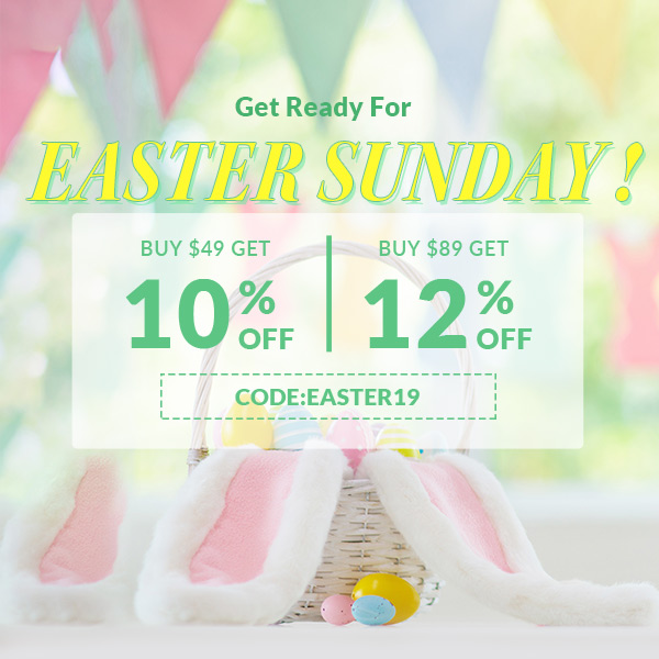 Easter Sunday 2019 On Sale