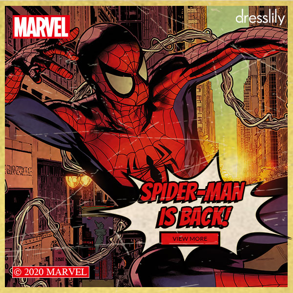Spider-Man is Back Marvel Sector. ( Note:The Banner can't be modified due to copyright reason)