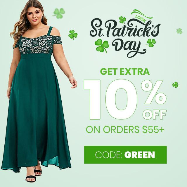 Enjoy St. Patrick's Day Sale