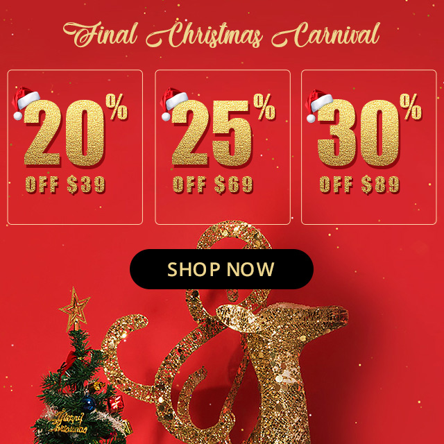 dresslily CHRISTMAS FINAL CARNIVAL