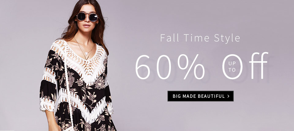 Charming fall time style arrives! Welcome to Dresslily to choose your likes and you can enjoy free shipping and up to 60% off. Just poking us!