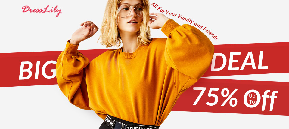 Thanksgiving Big Deal Up To 75% OFF, All For Your Family And Friends