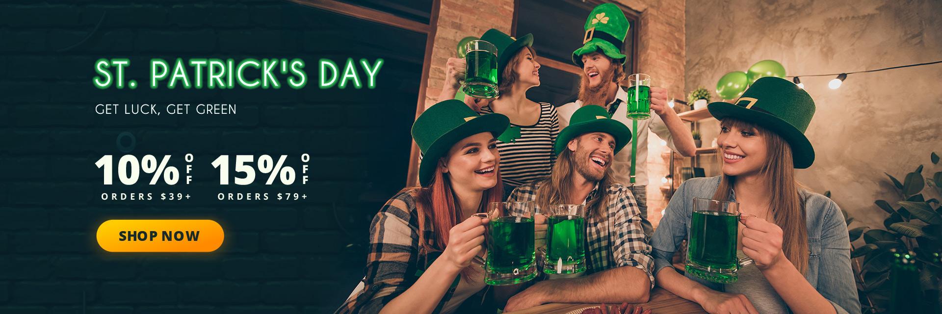 dresslily.com - St. Patrick's Day Sale!