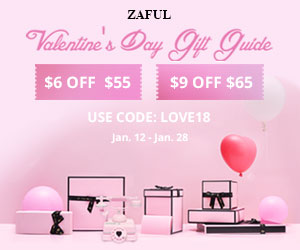 Valentine's Day Gift Guide: $9 OFF with Code