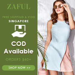 Good News! Free Shipping for all Singapore Orders at Zaful.com!