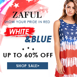 Enjoy Up to 60% OFF for Flag Sale at Zaful.com!