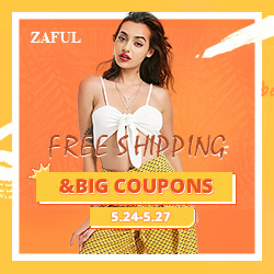 Zaful May's Sale: Win Free Shipping & Big Coupons